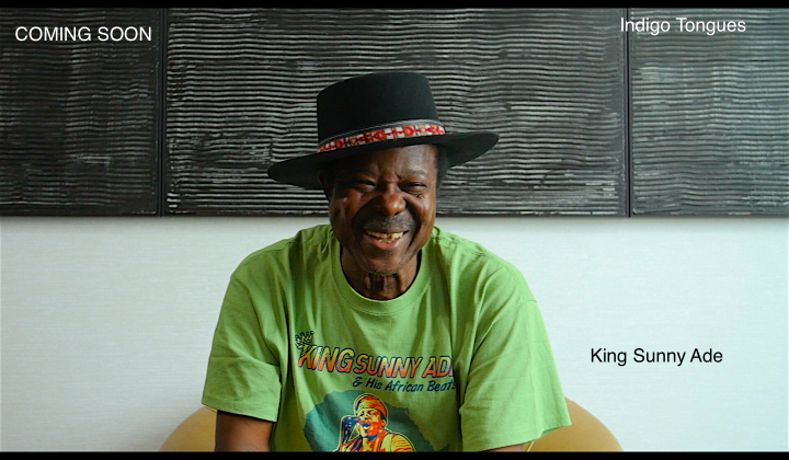 King Sunny Ade on Indigo Tongues